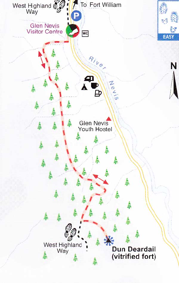 Dun Deardail Glen Nevis